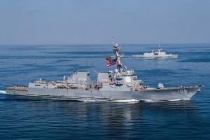 Британія й США провели військові навчання у Південнокитайському морі