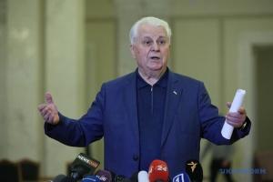 Friedliche Regelung im Donbass: Krawtschuk bringt initiativen ein