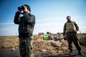 Im Donbass kommen feindliche Artillerie und Mörser zum Einsatz, ein Soldat verletzt