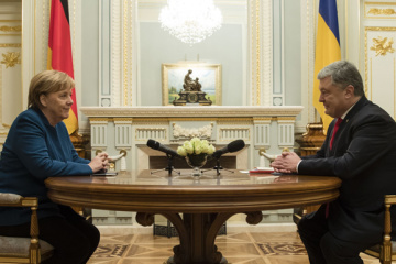 【宇独首脳会談】ポロシェンコ大統領、ロシアが発動した対ウクライナ制裁にコメント