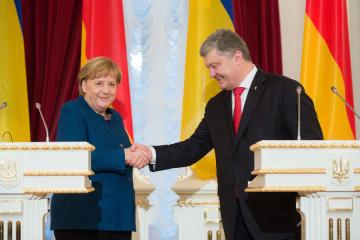 【宇独首脳会談】メルケル独首相「ドイツは対露制裁の延長を支持」
