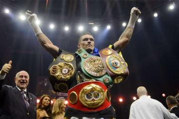 Usyk reconocido el mejor boxeador extranjeros en el Reino Unido