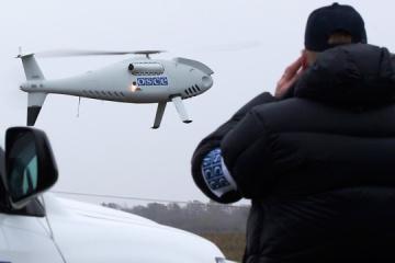 Окупанти обстріляли безпілотник спостерігачів ОБСЄ біля Попасної