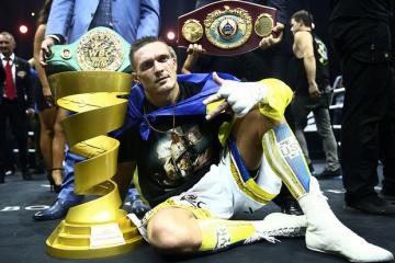 Usyk, el mejor boxeador de 2018 según The Ring