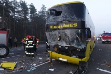 No Ukrainians among victims of road accident near Bochnia in Poland - Foreign Ministry