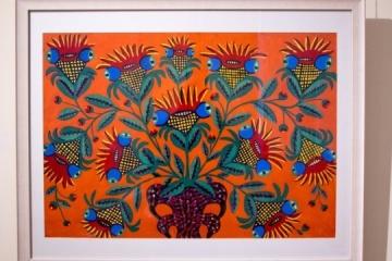 第聂伯市举行画家玛丽亚•普里马琴科诞辰110周年展览开幕式