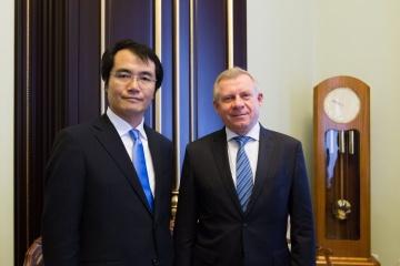JCB、ウクライナ市場への進出に関心:中央銀行
