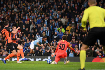 Shakhtar Donetsk loses to Manchester City in England