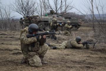 Donbass : Les forces d'occupation russes ont violé la trêve à une reprise