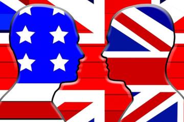 Британська англійська VS американська англійська