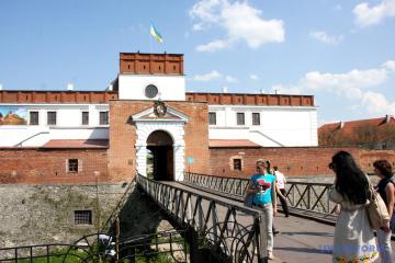 Les châteaux et forteresses de la région de Rivne à vol d'oiseau