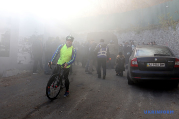 Des explosions ont eu lieu au centre de Kyiv