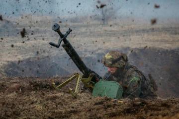 Donbass : les troupes russes ont lancé 10 attaques, 2 militaires ukrainiens blessés