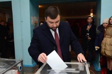 Les premiers résultats des pseudo-élections dans le Donbass arrivent et ils étaient prévisibles