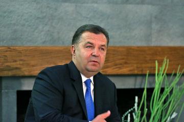 Minister Poltorak: Naval base on Sea of Azov is Ukrainian Navy's priority for 2019
