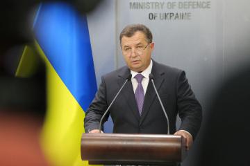 Poltorak: Ucrania puede responder adecuadamente a la agresión de Rusia en el Mar Negro