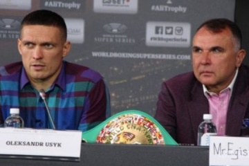 Boxen: Kampf mit Joshua ist möglich, aber vorher muss Oleksandr ein paar Kämpfe austragen - Klimas