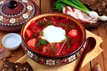 Borshch, entre 20 mejores sopas del mundo