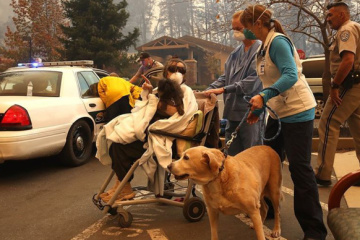California wildfires: Foreign Ministry asks Ukrainians to contact consul in case of danger
