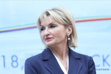 Iryna Lutsenko submits resignation letter to president