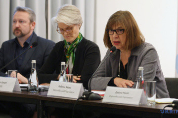 MEP Rebecca Harms: Presidential election is foremost a victory of Ukrainian people