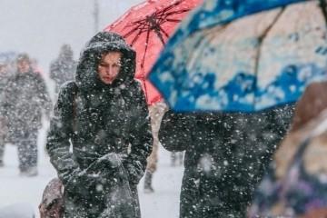 Ukrainians warned of adverse weather conditions