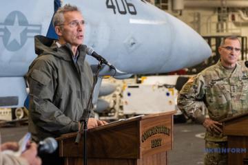 Stoltenberg über Unterstützung der Ukraine auf dem Weg zur NATO