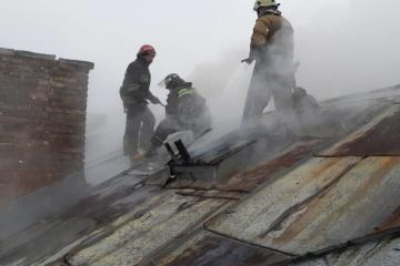 Brand in Krankenhaus in Lwiw: 481 Menschen evakuiert