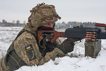 Joint Forces hold tactical exercises in Dnipropetrovsk region