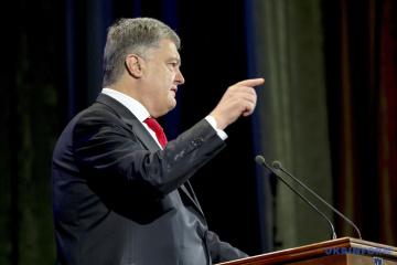 Porochenko rendra public des données sur l'intervention de la Russie dans les élections ukrainiennes