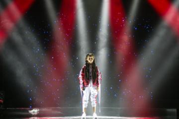 Hroisman  demande aux Ukrainiens de soutenir la jeune chanteuse représentant l'Ukraine à l'Eurovision Junior