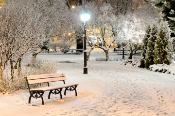 L'hiver arrive à grands pas : la neige en Ukraine atteindra 15 cm