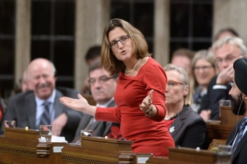 Canada will always support Ukraine's sovereignty and territorial integrity – Freeland