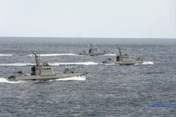 Fuerzas Navales: Barcos ucranianos cerca del estrecho de Kerch en alerta de combate
