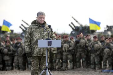 乌总统波罗申科支持戒严决议