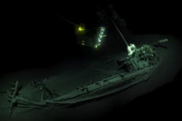 L'épave du plus ancien navire grec naufragé du monde sera visible à Mykolaiv