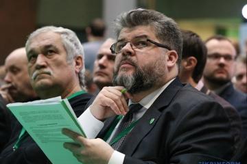 最高会議外務委員長、ミンスク諸合意につき「恥ずべき合意だが代替はない」と発言