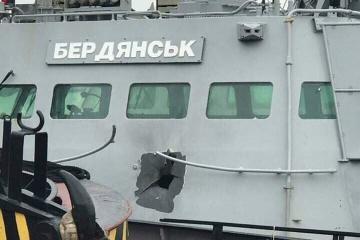 だ捕された小型艦砲「ベルジャンシク」の指揮官、船員解放まで証言を拒否:弁護士