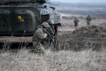 Les occupants ont tiré sur une voiture médicale dans le Donbass
