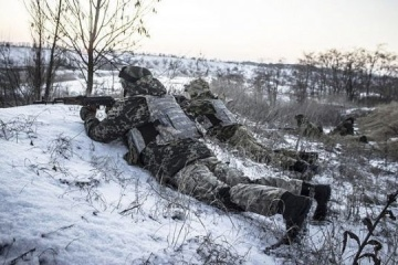 Militants launched 14 attacks on Ukrainian troops in Donbas in last day