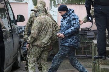 EU once again demands that Russia release Ukrainian sailors