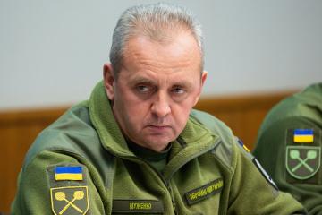 乌将军穆真科参加北约军事委员会的会议