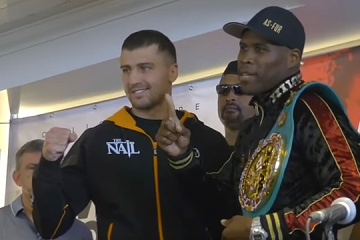 Gvozdyk: Stevenson is great fighter but it's my time