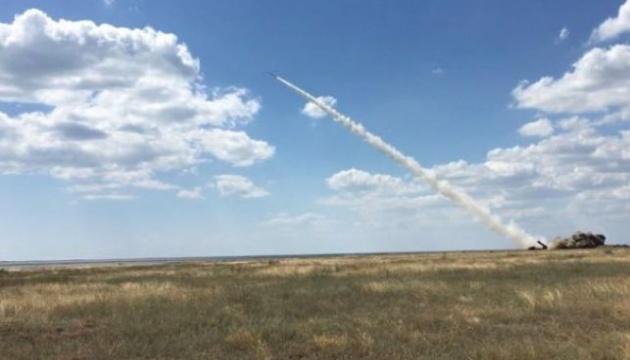 Украина начала ракетные стрельбы над Черным морем