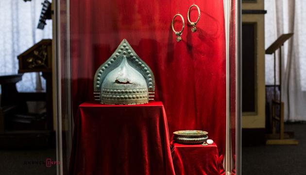 Уникальные вещи воина-киммерийцев показали во Львове