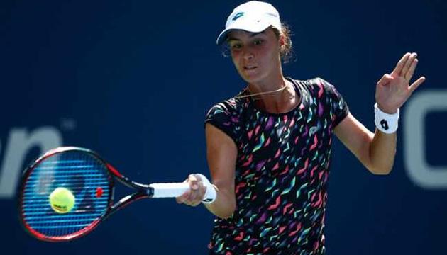 Теннис: Калинина остановилась в 1/8 финала турнира ITF в Лючжоу