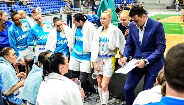 Украинские баскетболистки 11 ноября начнут подготовку к игре с Болгарией