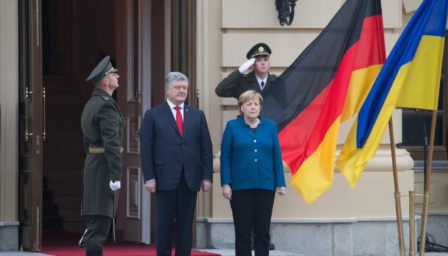 【宇独首脳会談】ポロシェンコ大統領「ドンバスの偽選挙を世界は認めない」