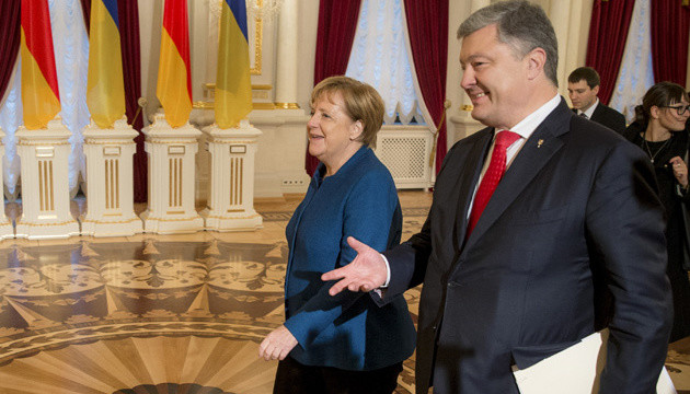 Merkel promises to significantly increase funding for projects in support of Ukraine