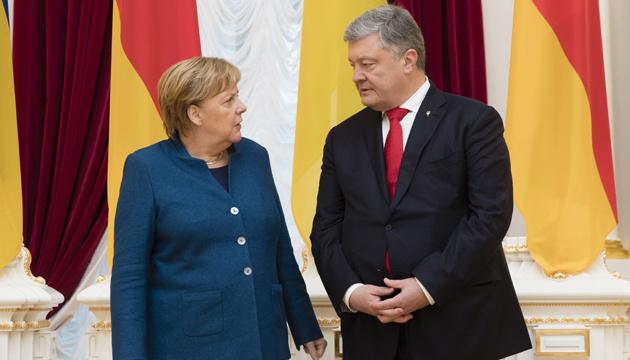 Меркель о Донбассе: У нас нет ничего другого, кроме Минских соглашений